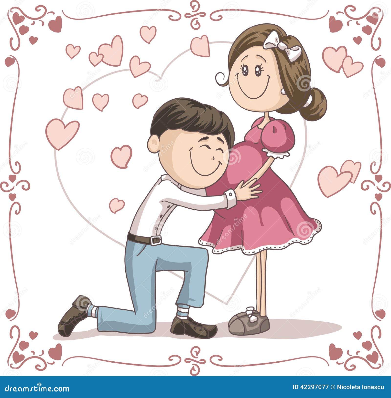 Поздравления мужу с беременностью жены