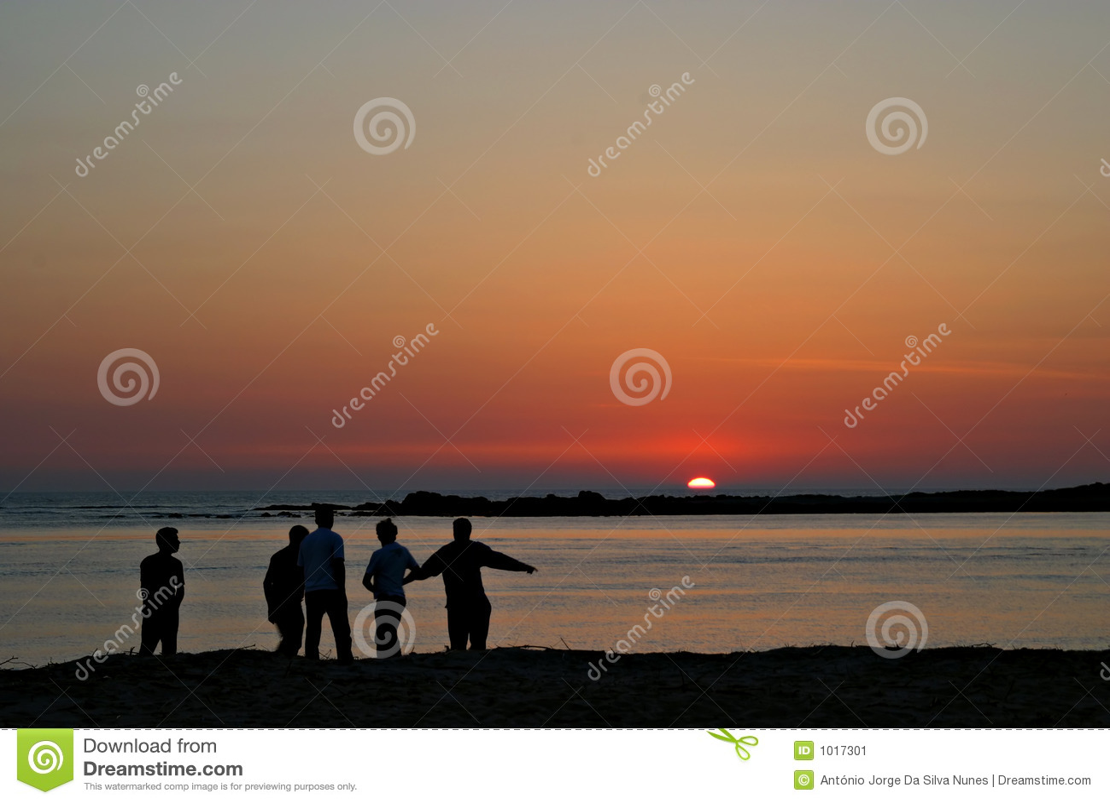 беседа захода солнца