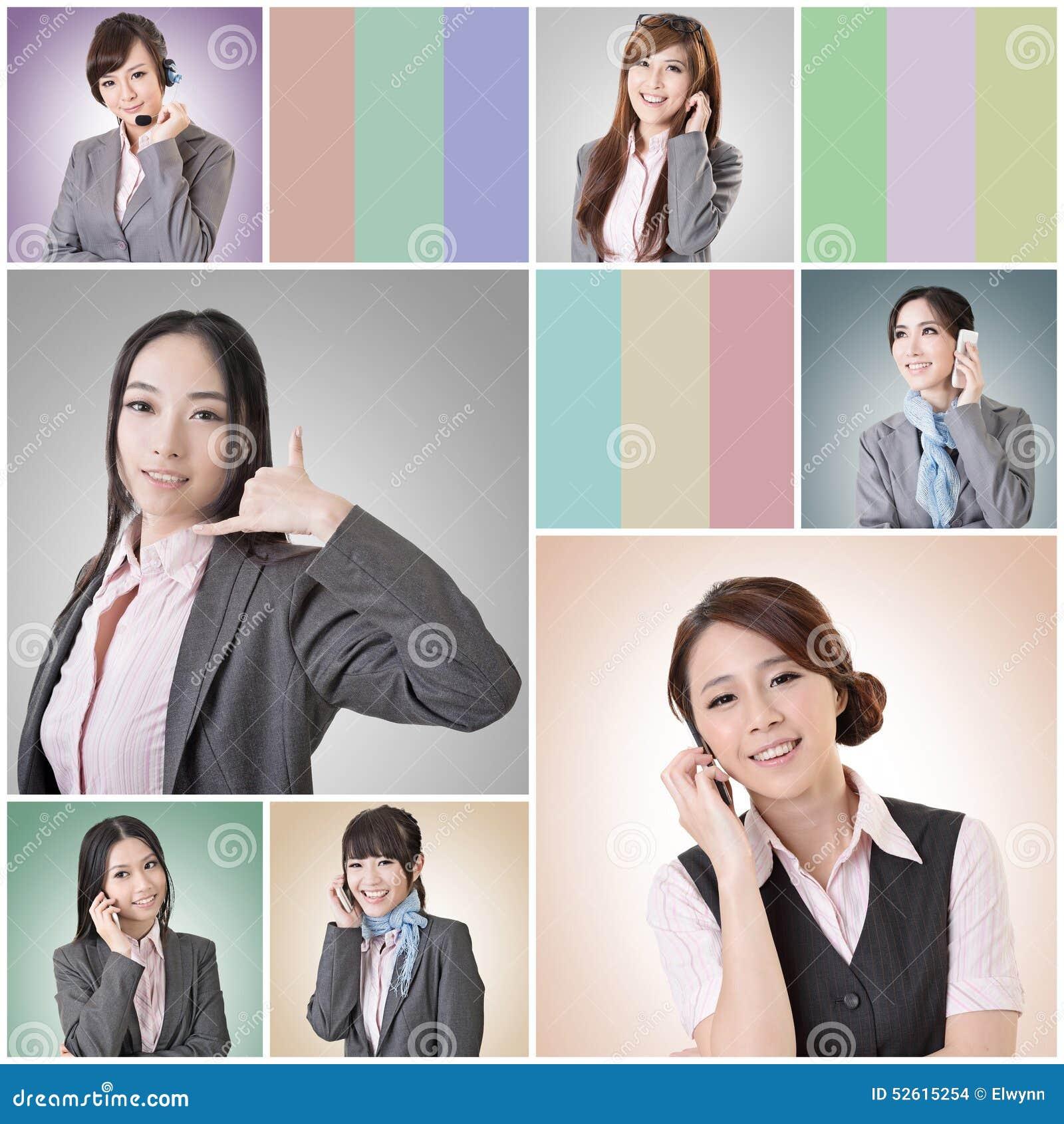 Беседа бизнес-леди