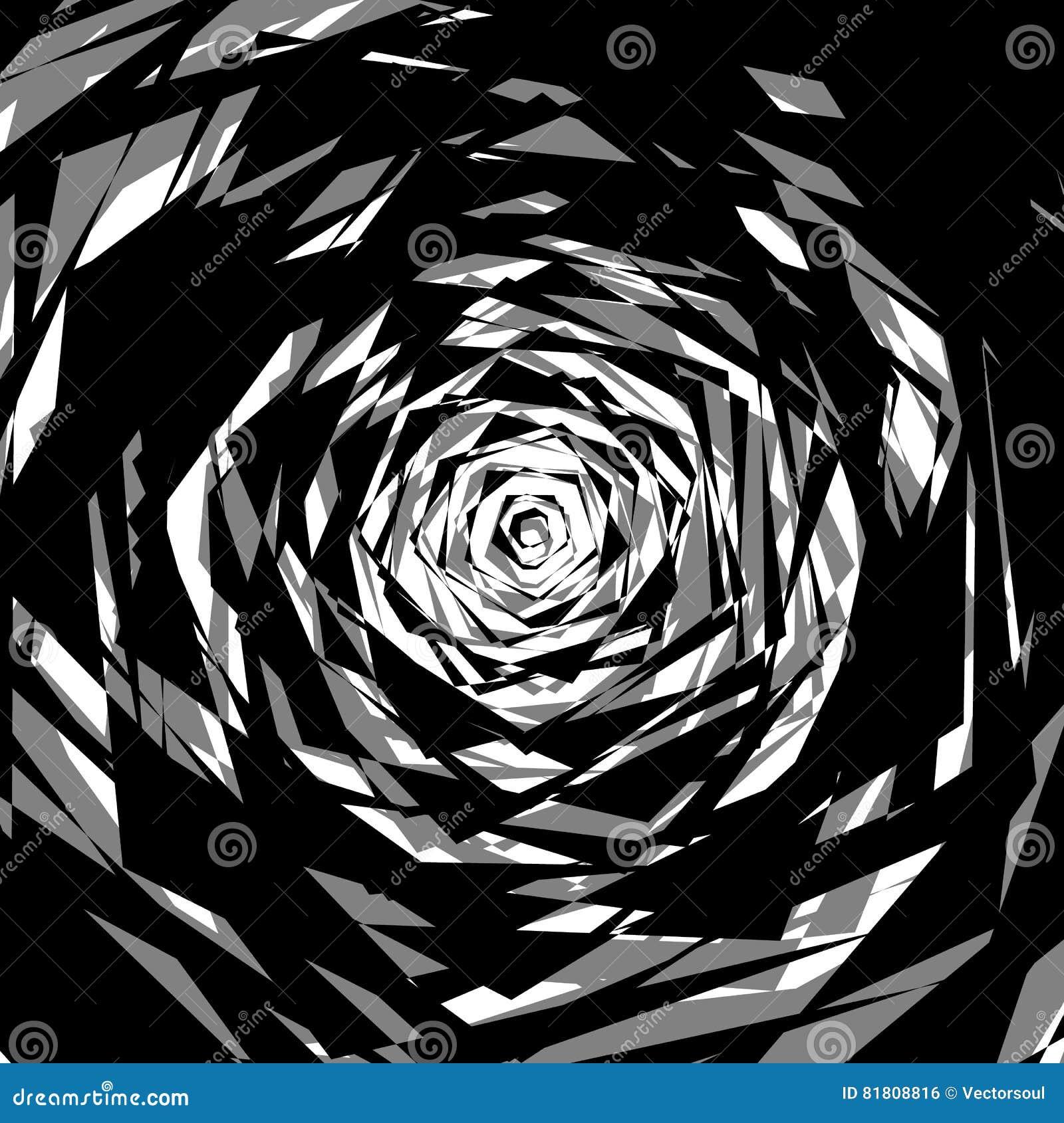 Бесцветная абстрактная нервная иллюстрация, грубая monochrome текстура