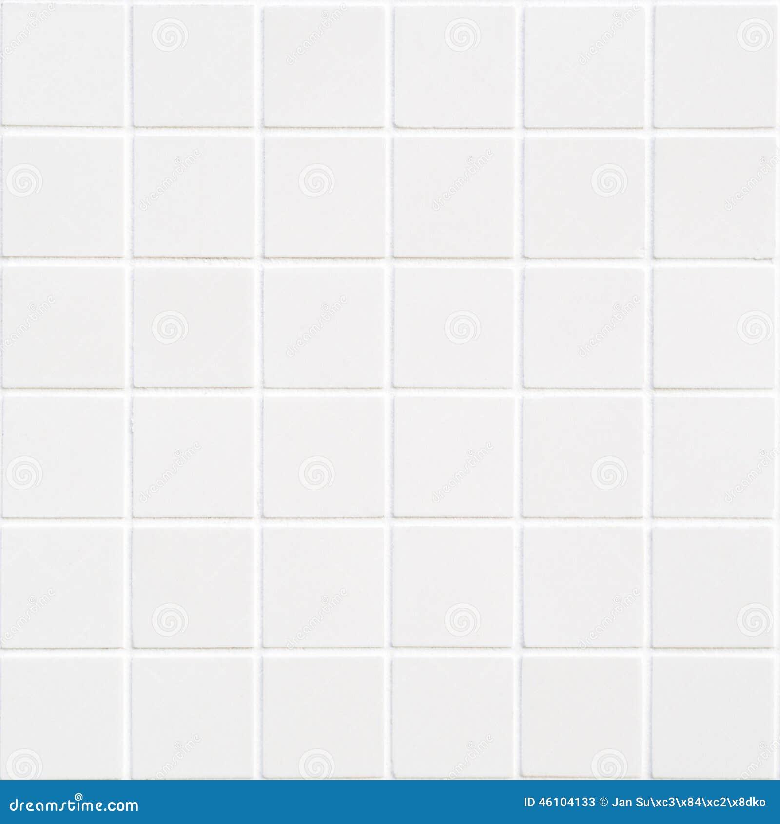 Керамическая плитка белая