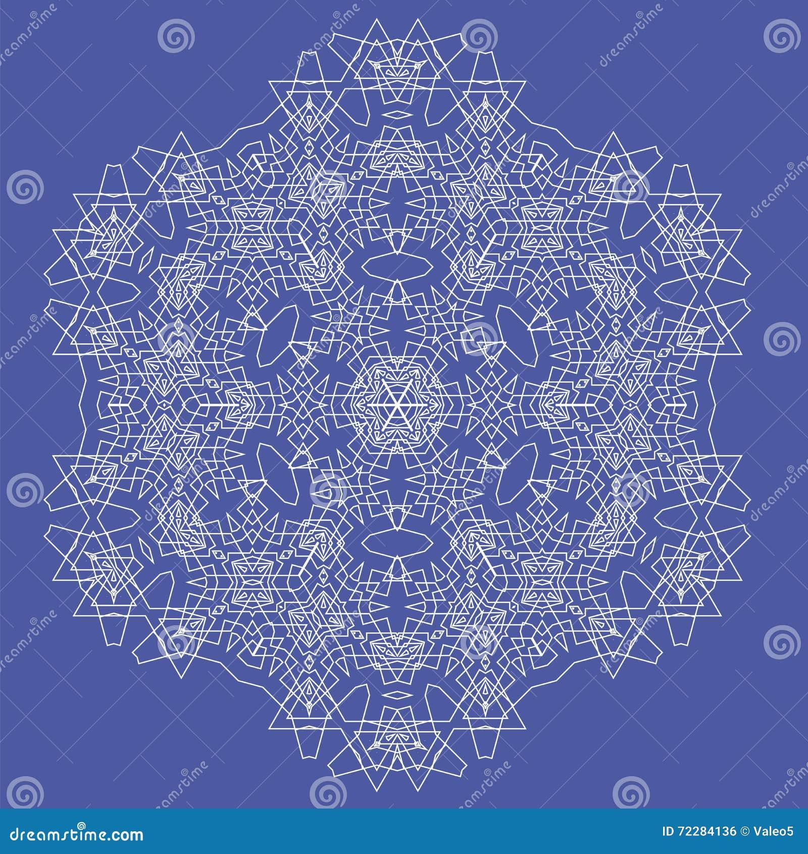 Download Белая мандала вектор орнамента круглый Иллюстрация вектора - иллюстрации насчитывающей конспектов, ведущего: 72284136