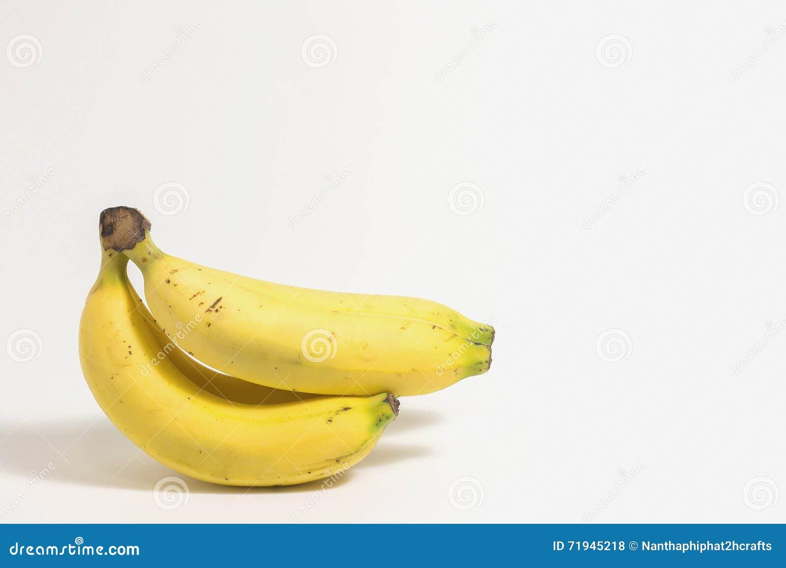 белизна бананов предпосылки изолированная пуком