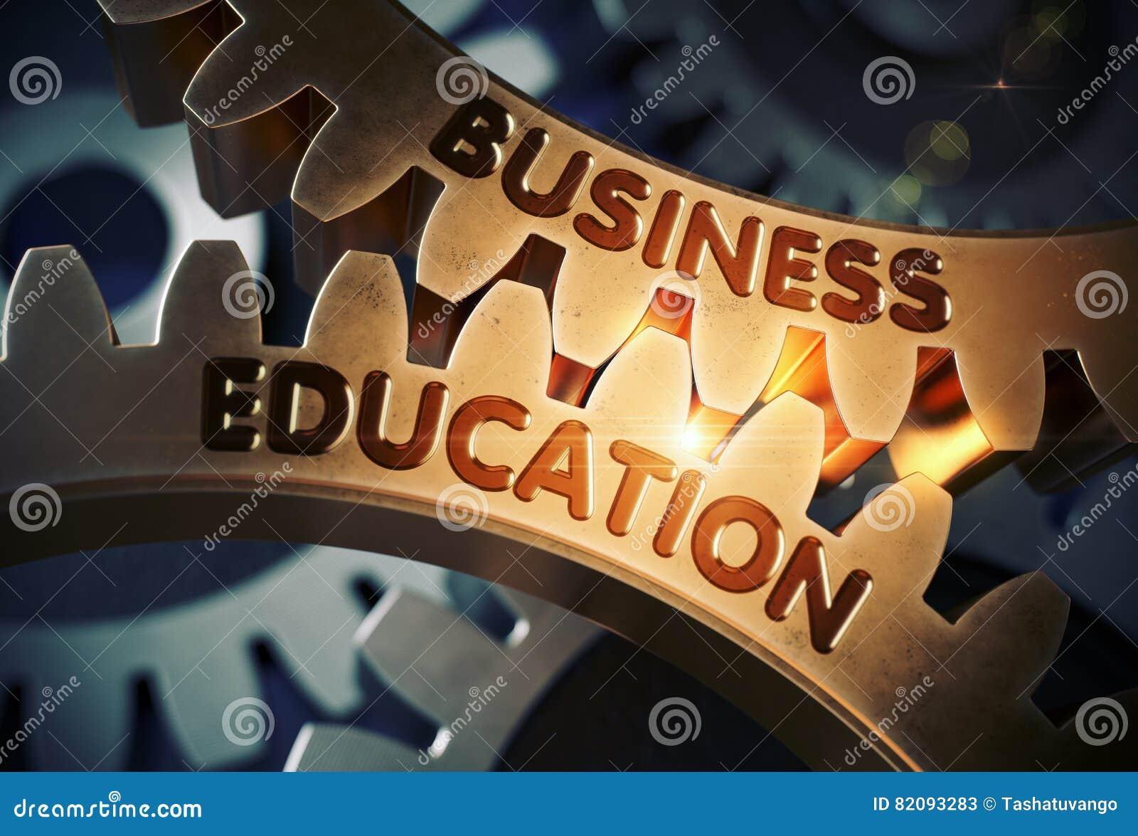 белизна принципиальной схемы дела изолированная образованием зацепляет золотистое иллюстрация 3d