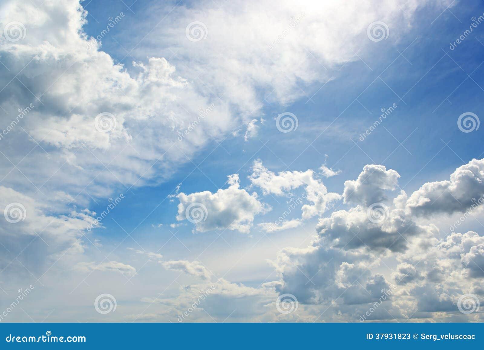 Белое облако