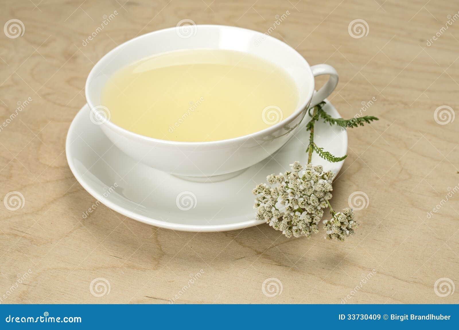 Белое cuo с травяным чаем