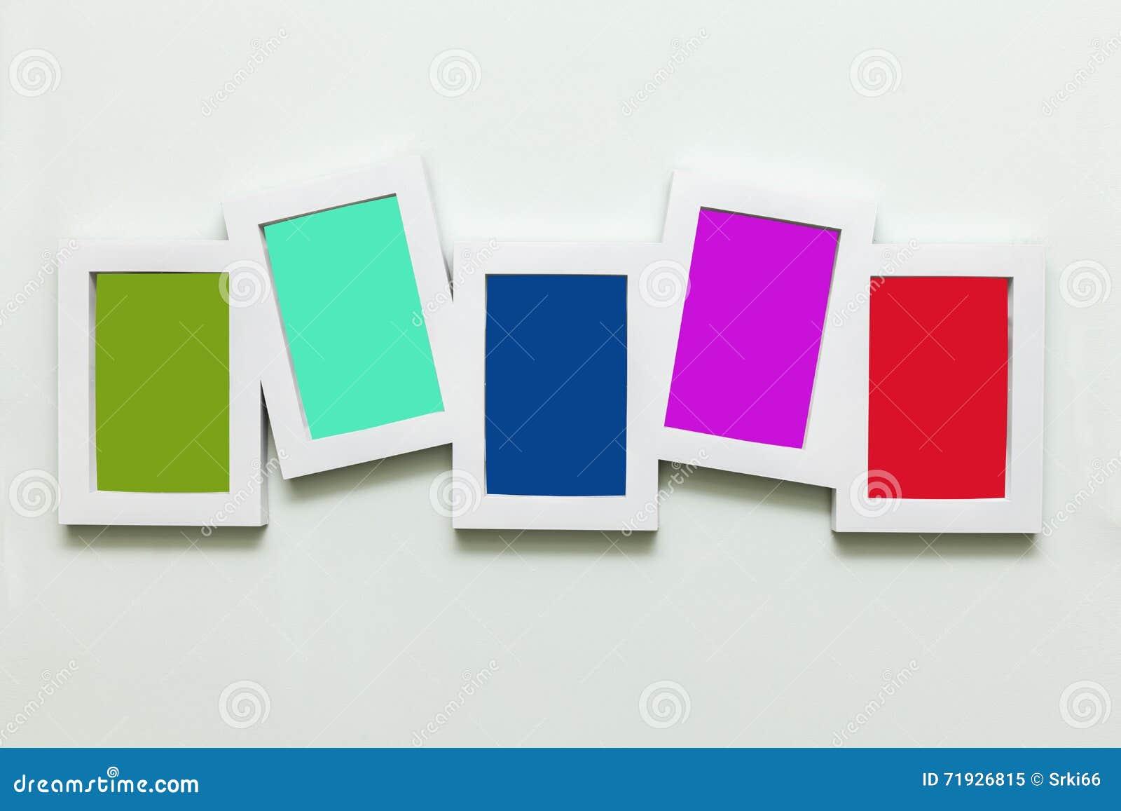 Белые деревянные рамки