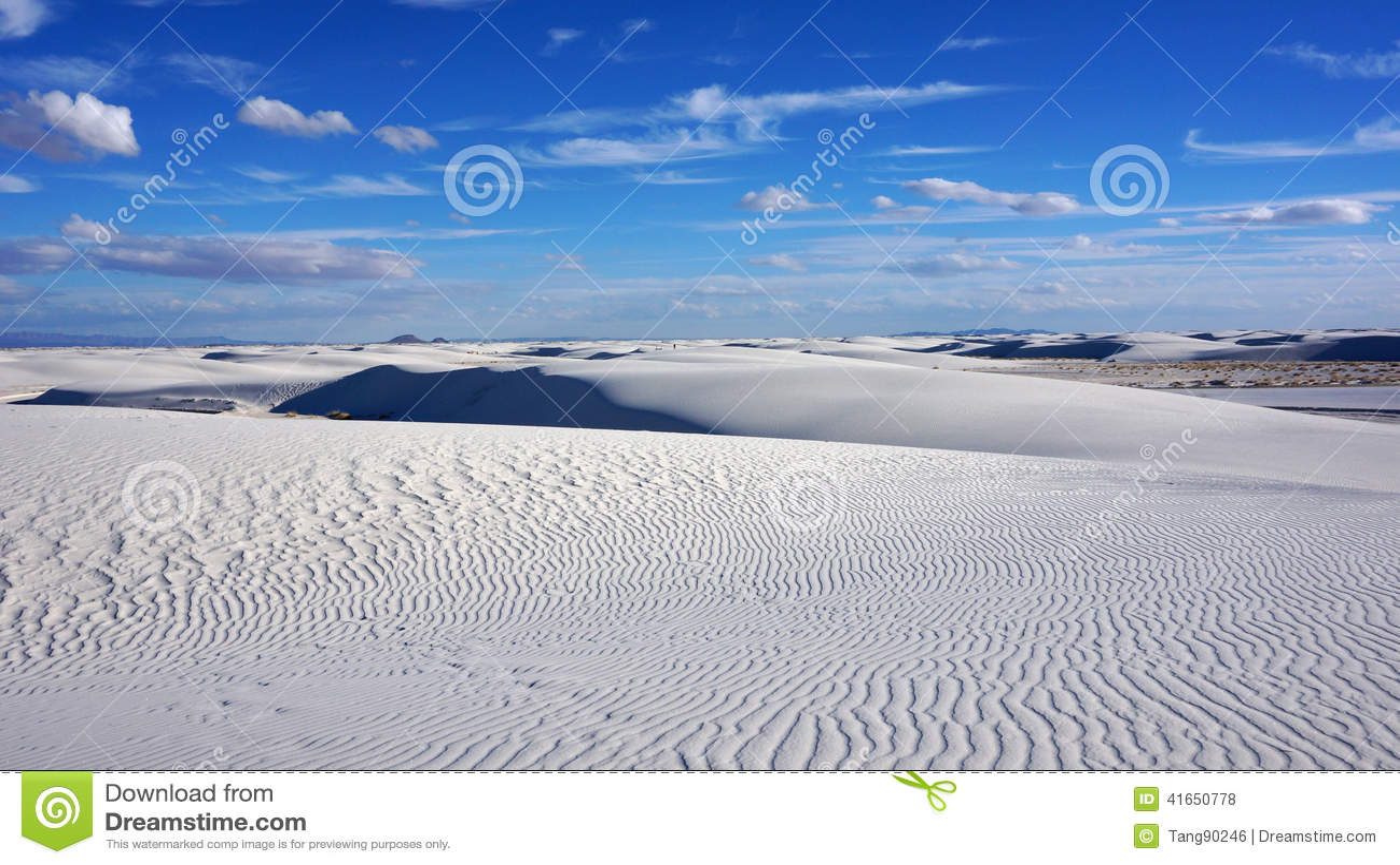 Белые пески, Неш-Мексико