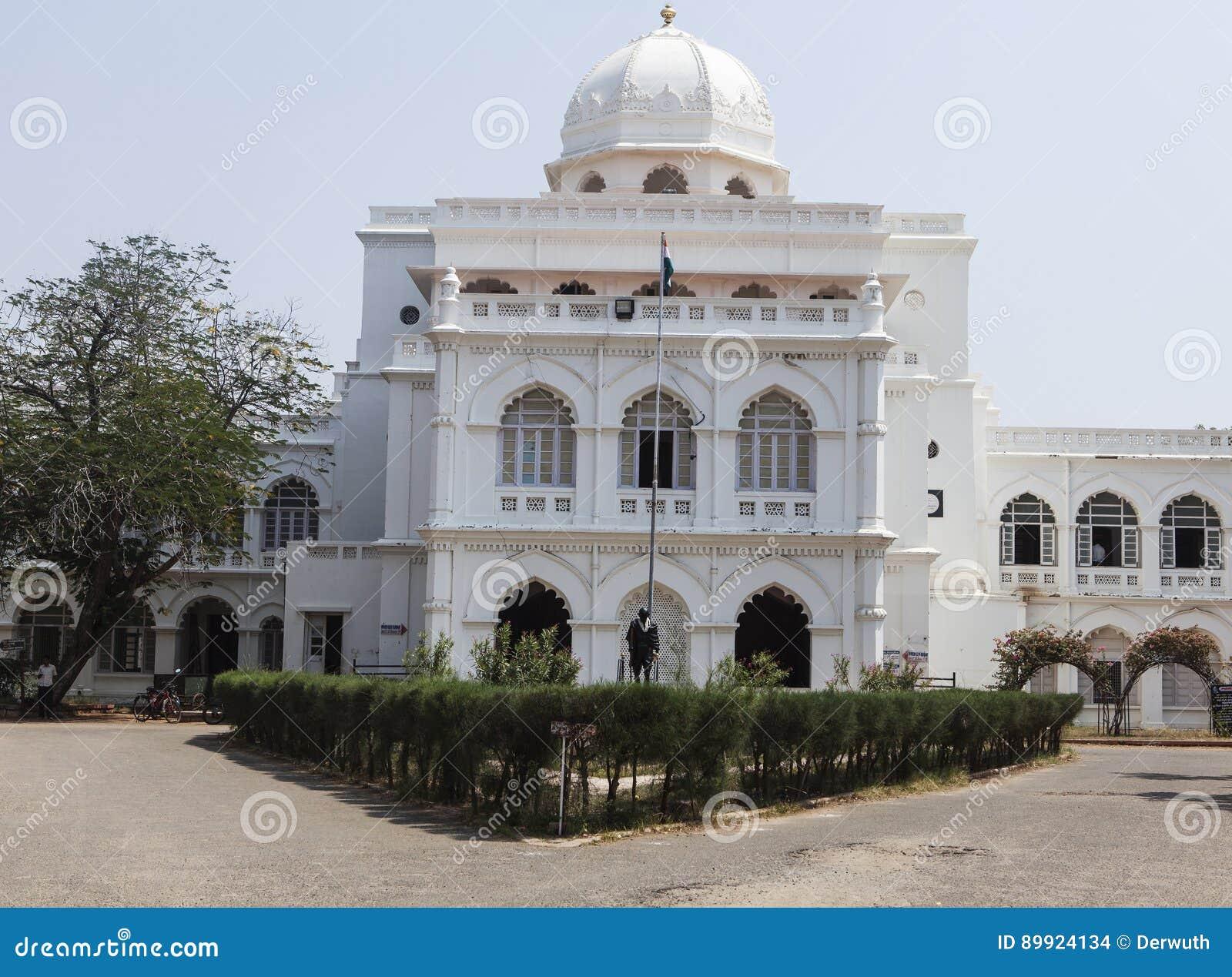 Белый музей gandhi