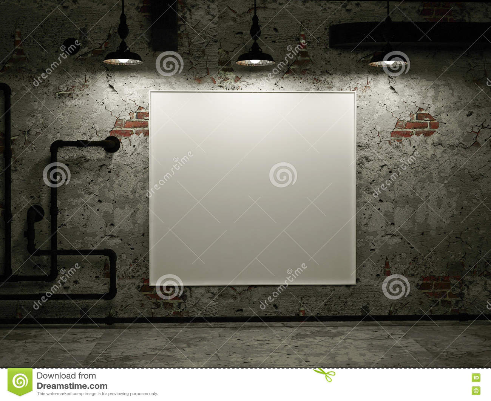 Белый фон в комнате