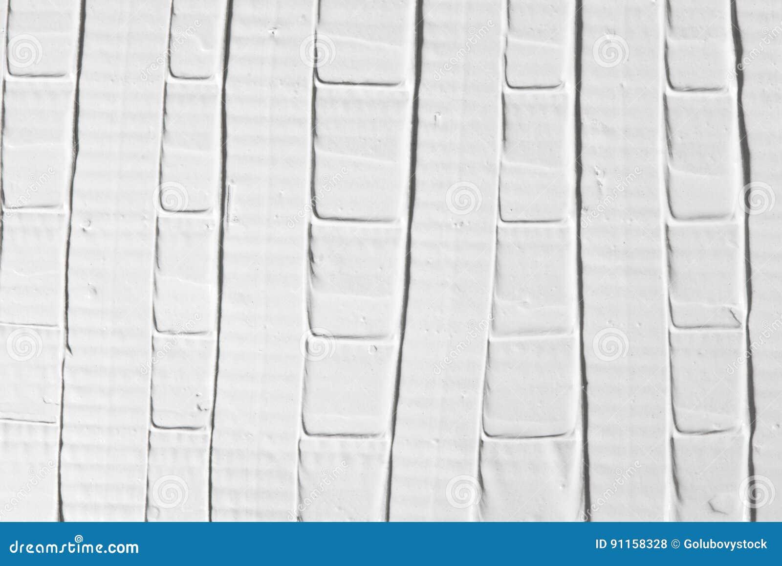 Белый фон сброса, декоративная текстура гипсолита