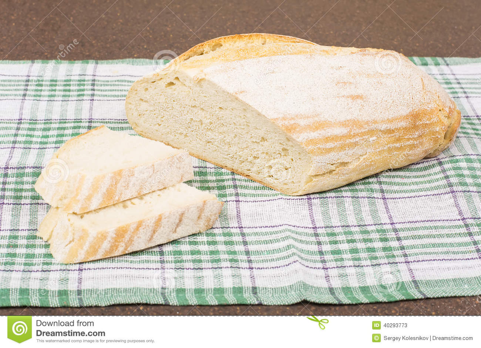 Белый хлеб пшеницы