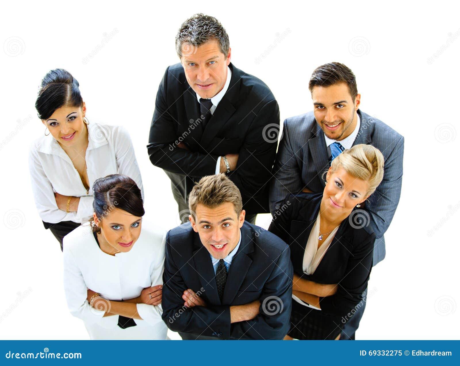 бизнесмены взгляда сверху