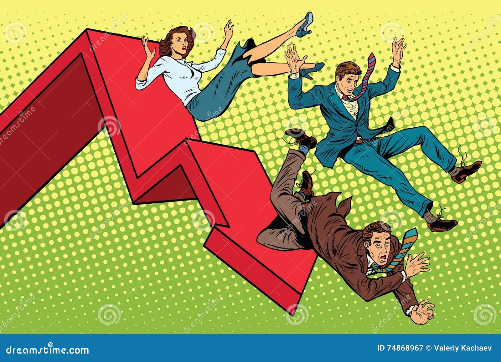 Бизнесмены и сброс давления женщины финансовый