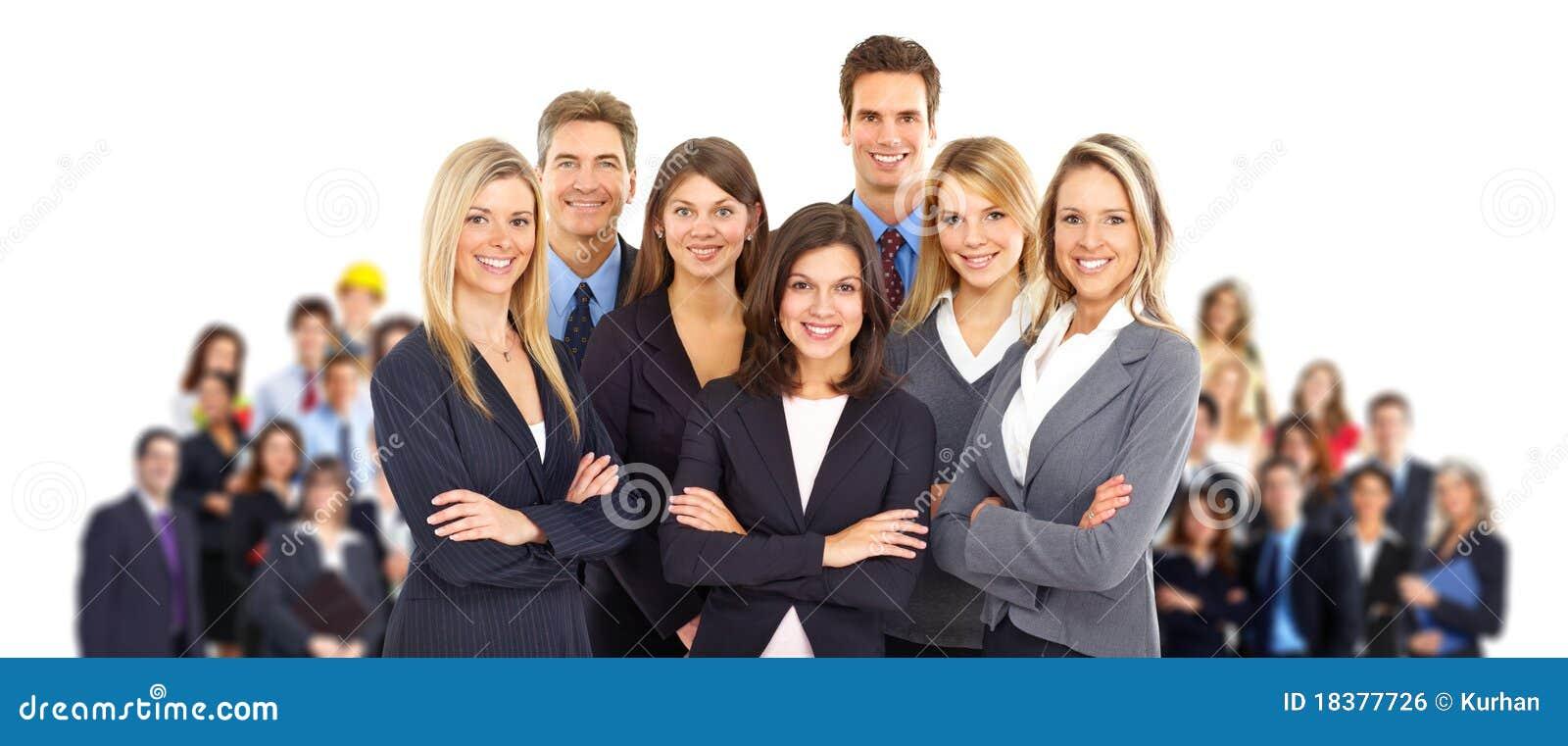 бизнесмены команды