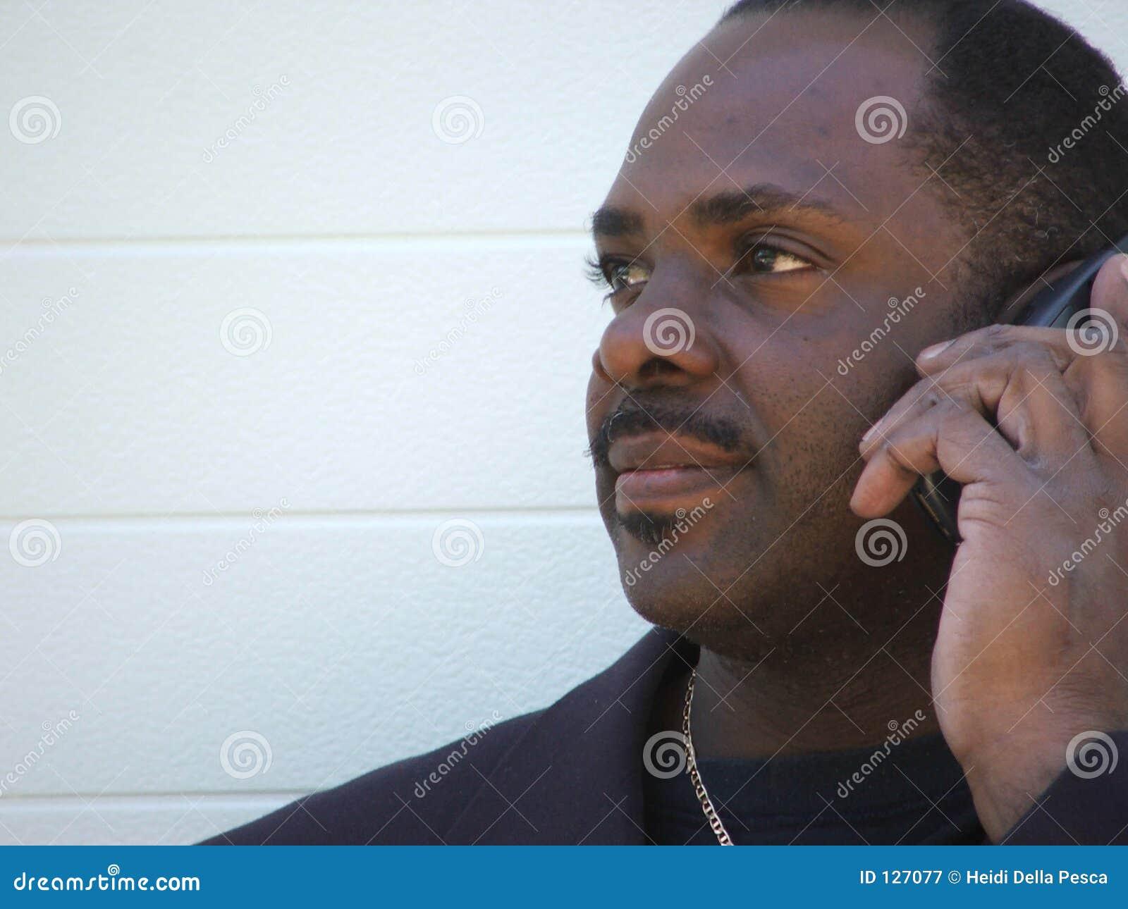бизнесмен афроамериканца