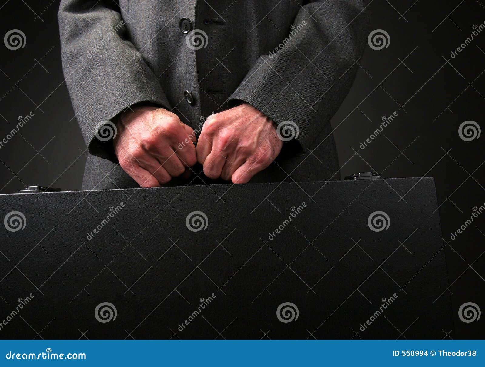 бизнесмен портфеля