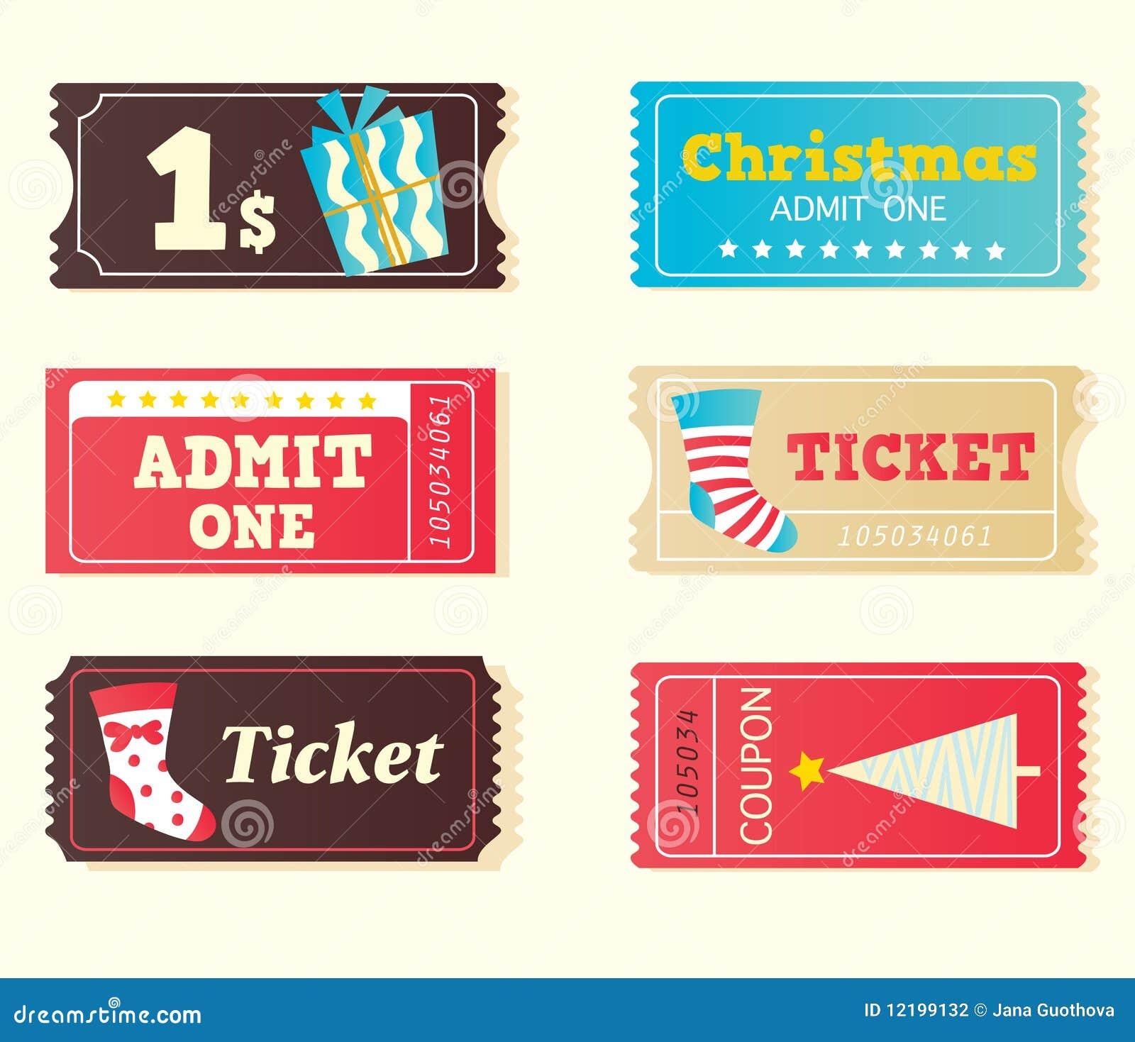 билеты голубого кино рождества красные ретро