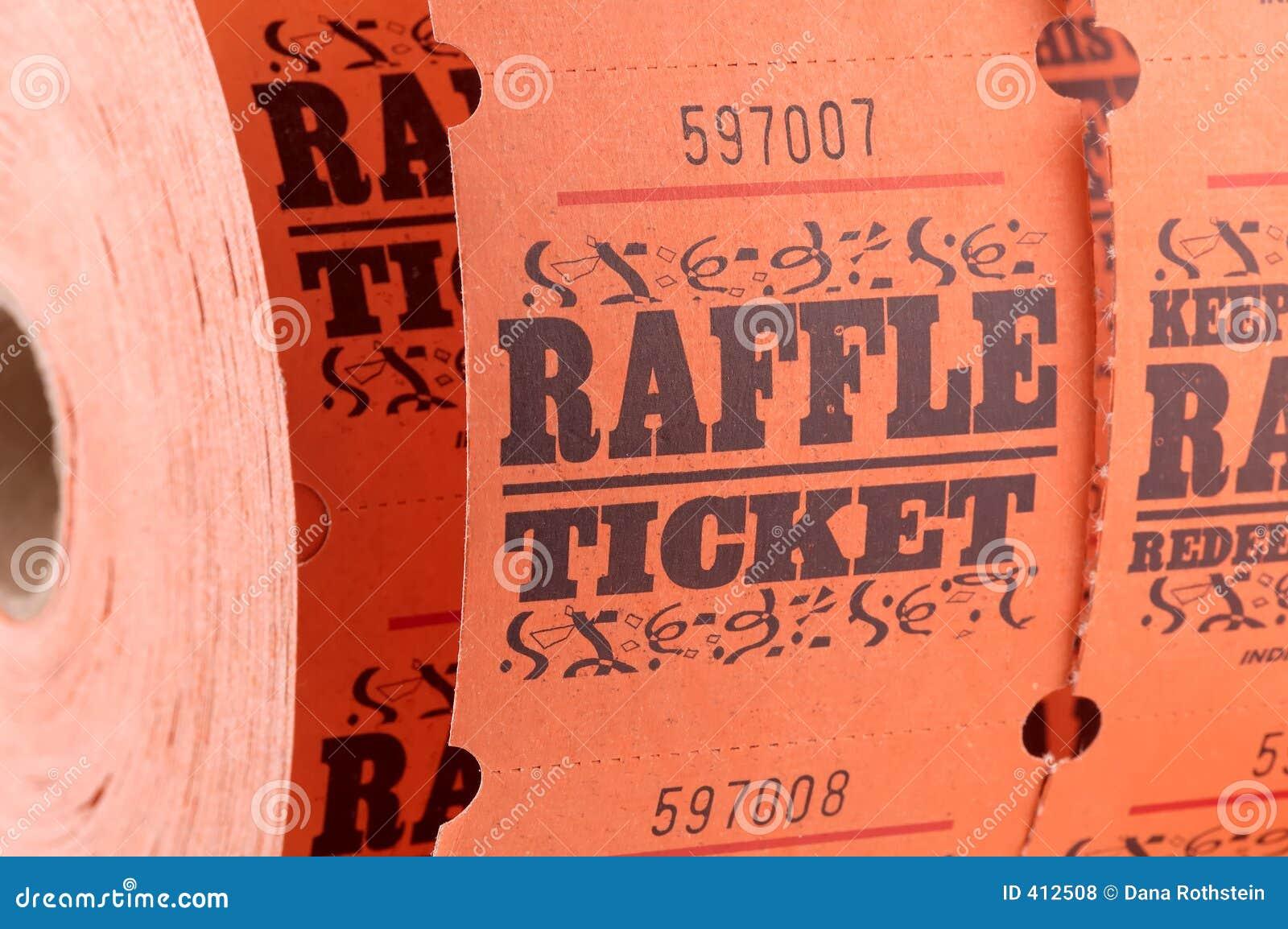 билет raffle