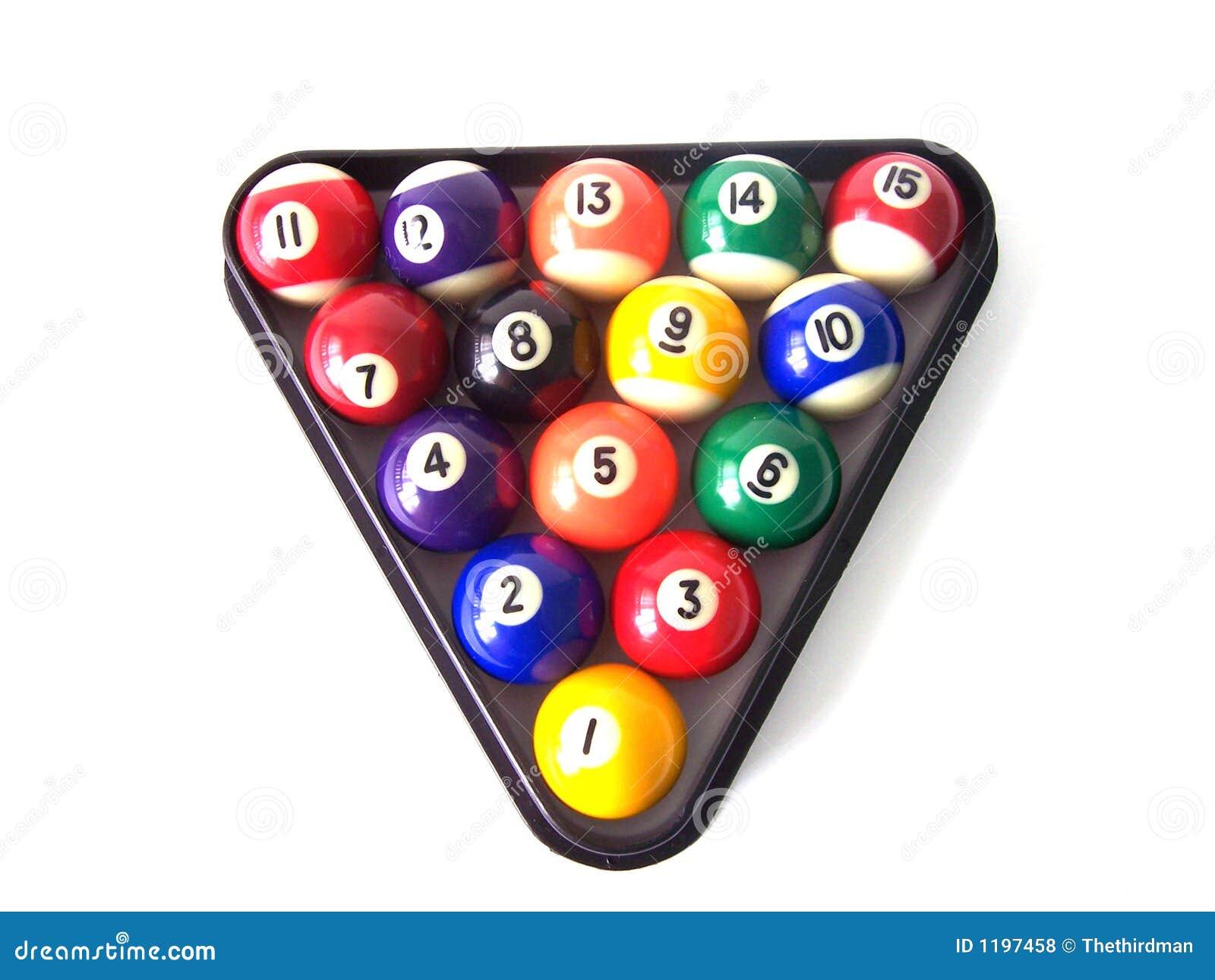 биллиард 4 шариков