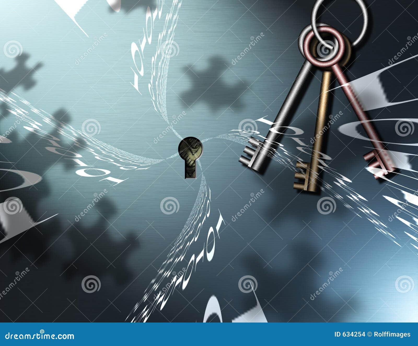 Download бинарная головоломка ключей Иллюстрация штока - иллюстрации насчитывающей цифрово, схематическо: 634254