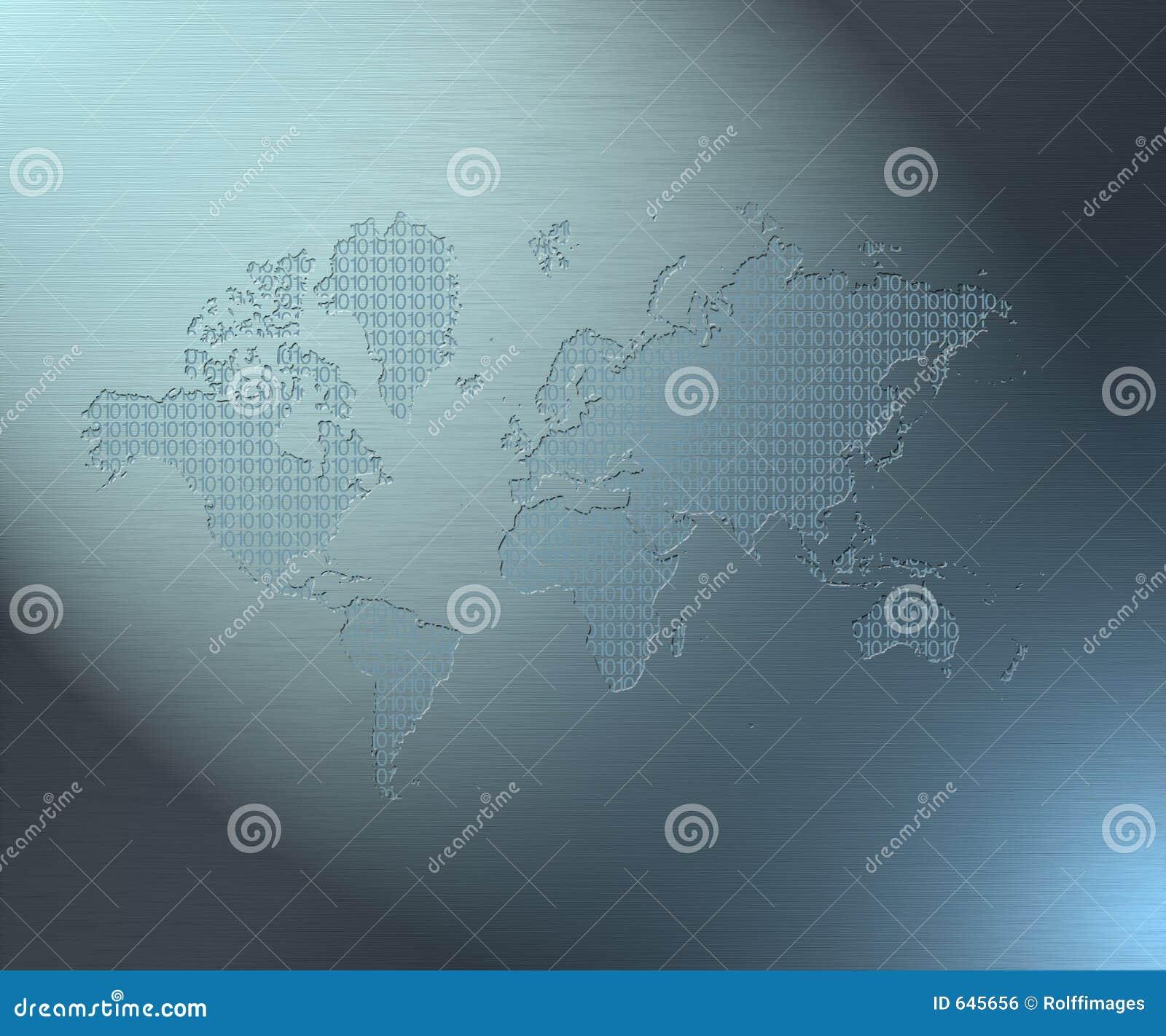 Download бинарный мир иллюстрация штока. иллюстрации насчитывающей данные - 645656