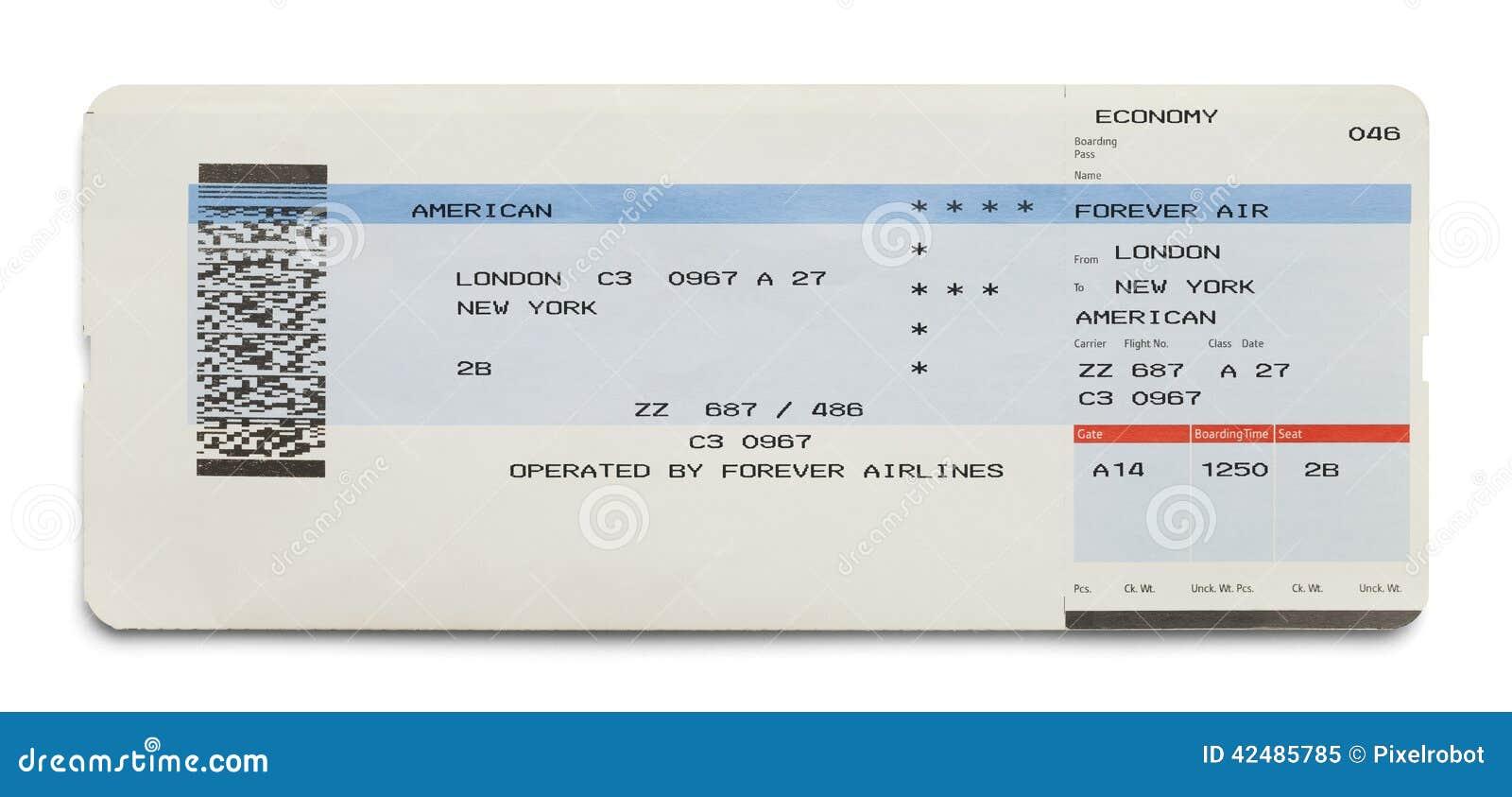 Билет самолета