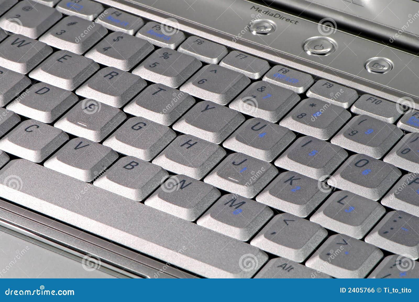 близкая клавиатура вверх