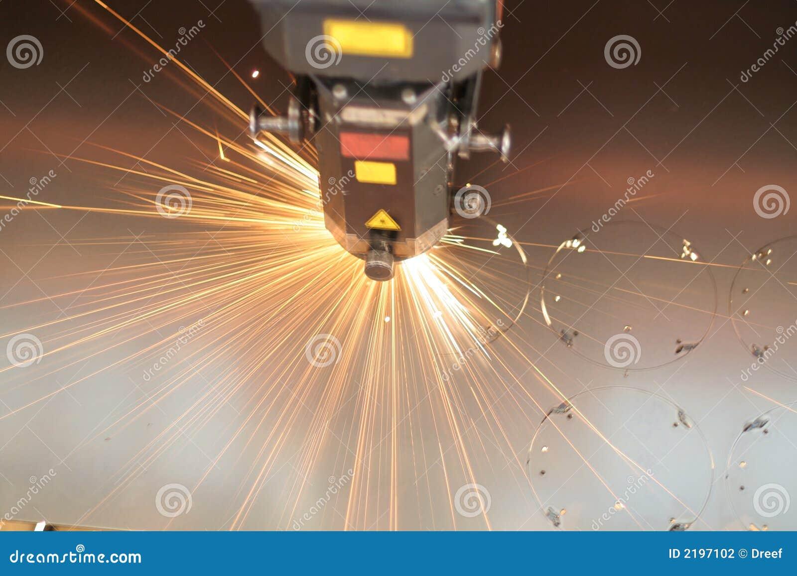 близкий лазер вверх