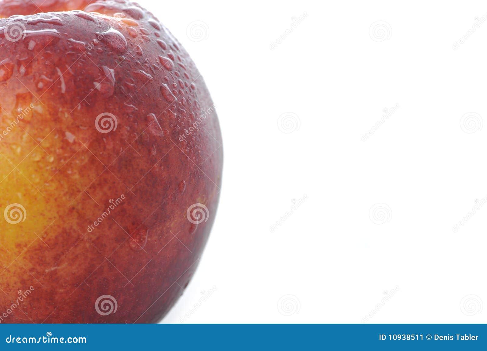 близкий персик вверх