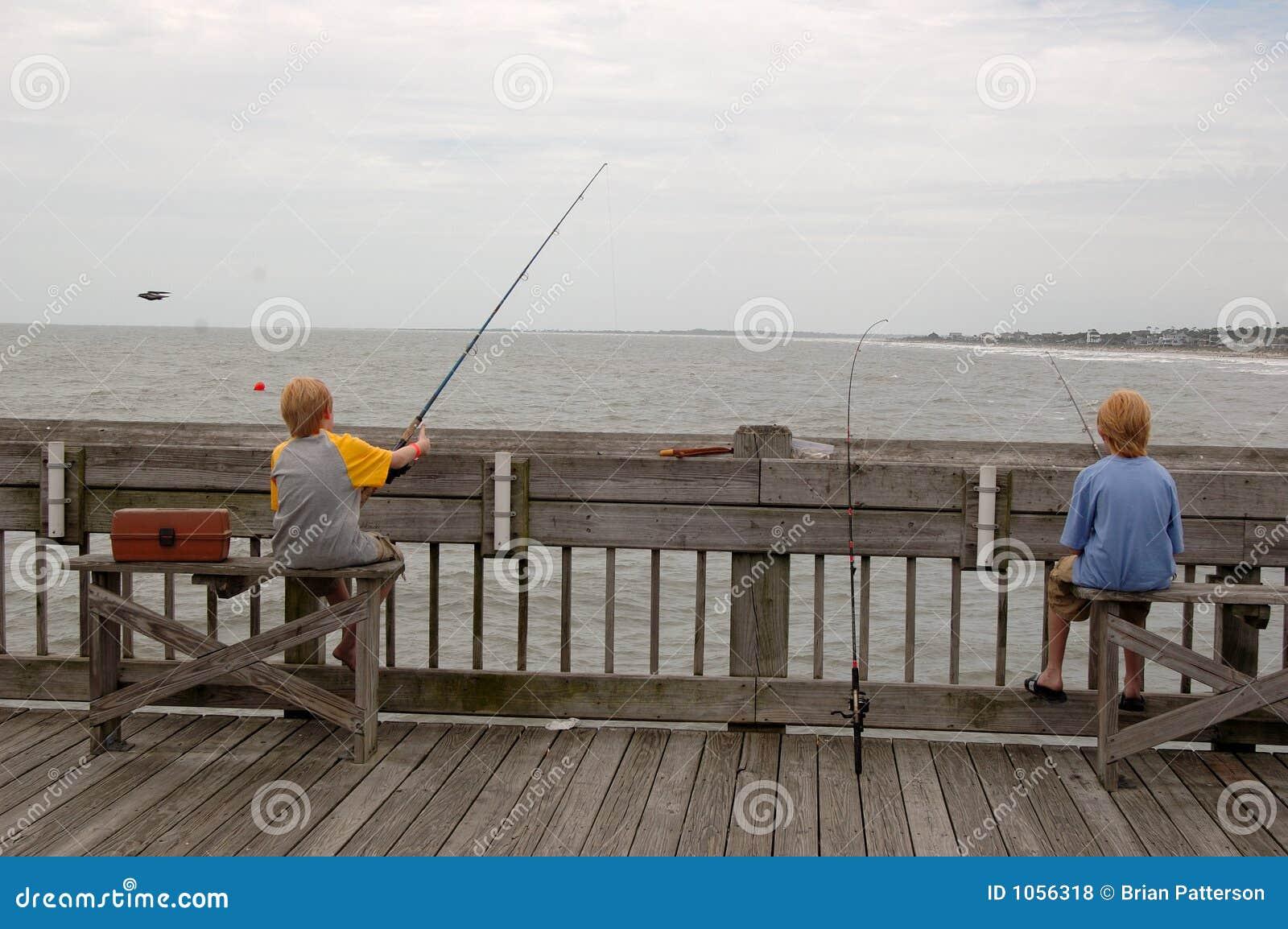 близнецы пристани океана рыболовства