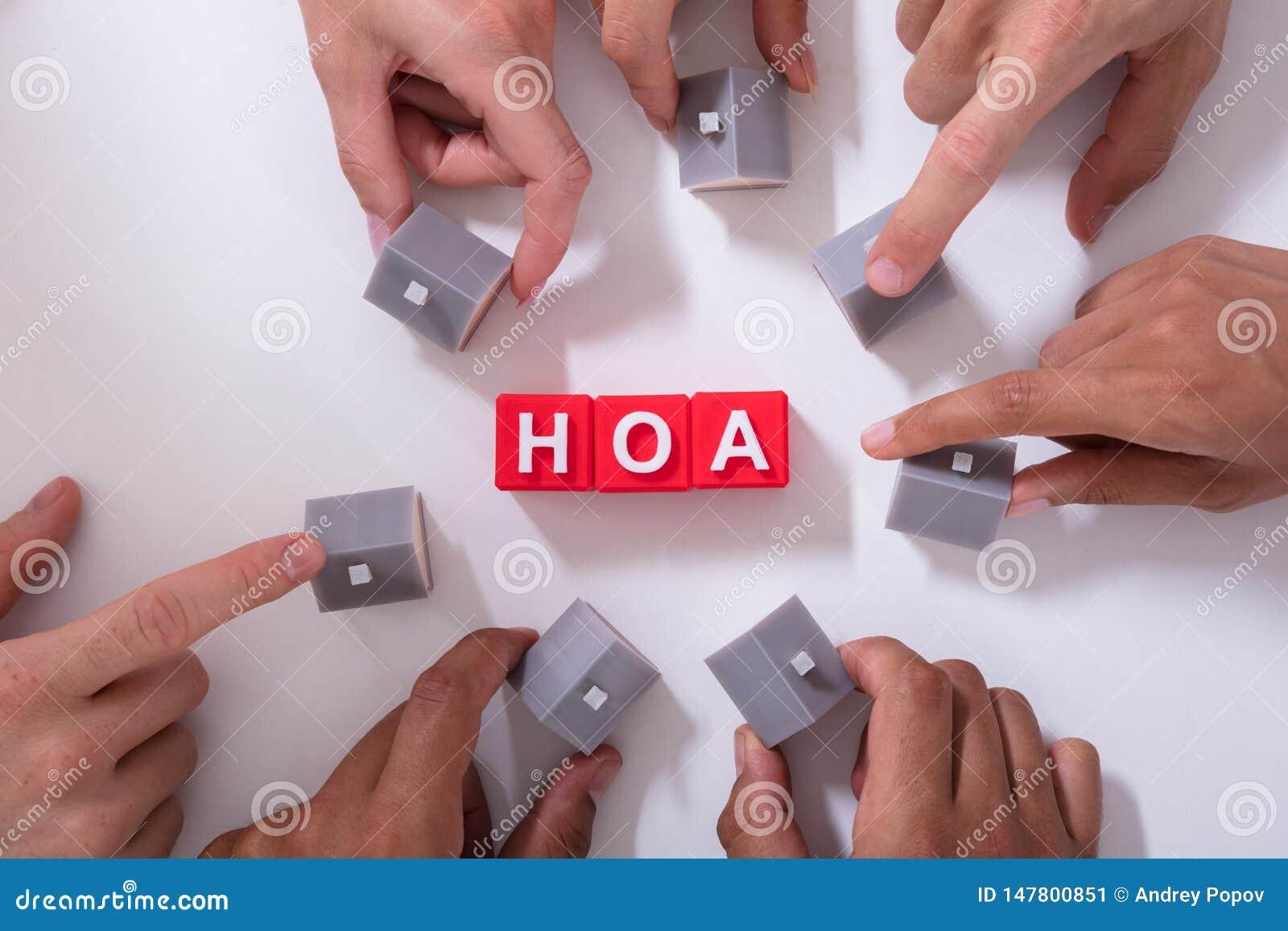 Блоки ассоциации домовладельца
