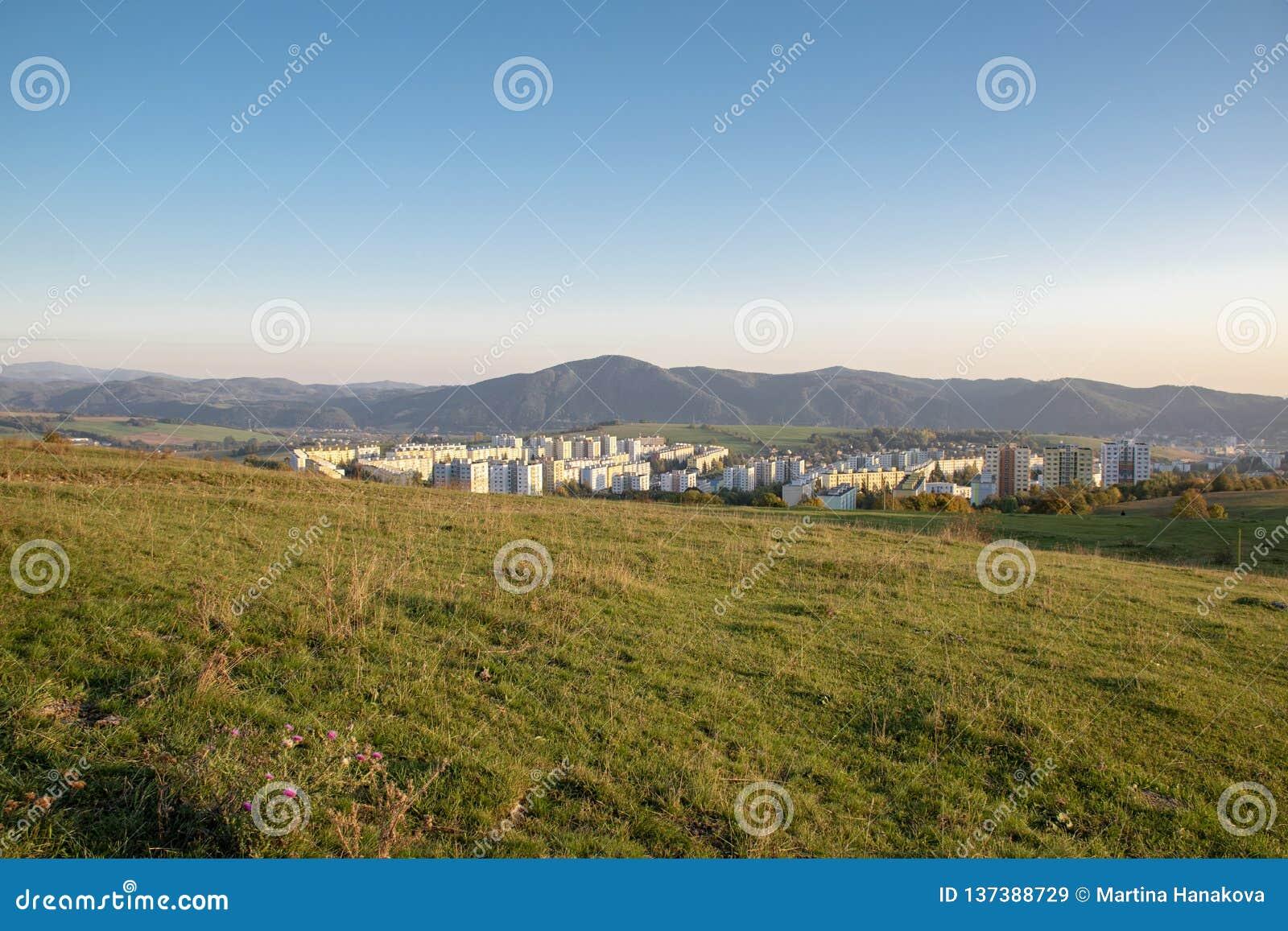 Блок квартир в долине