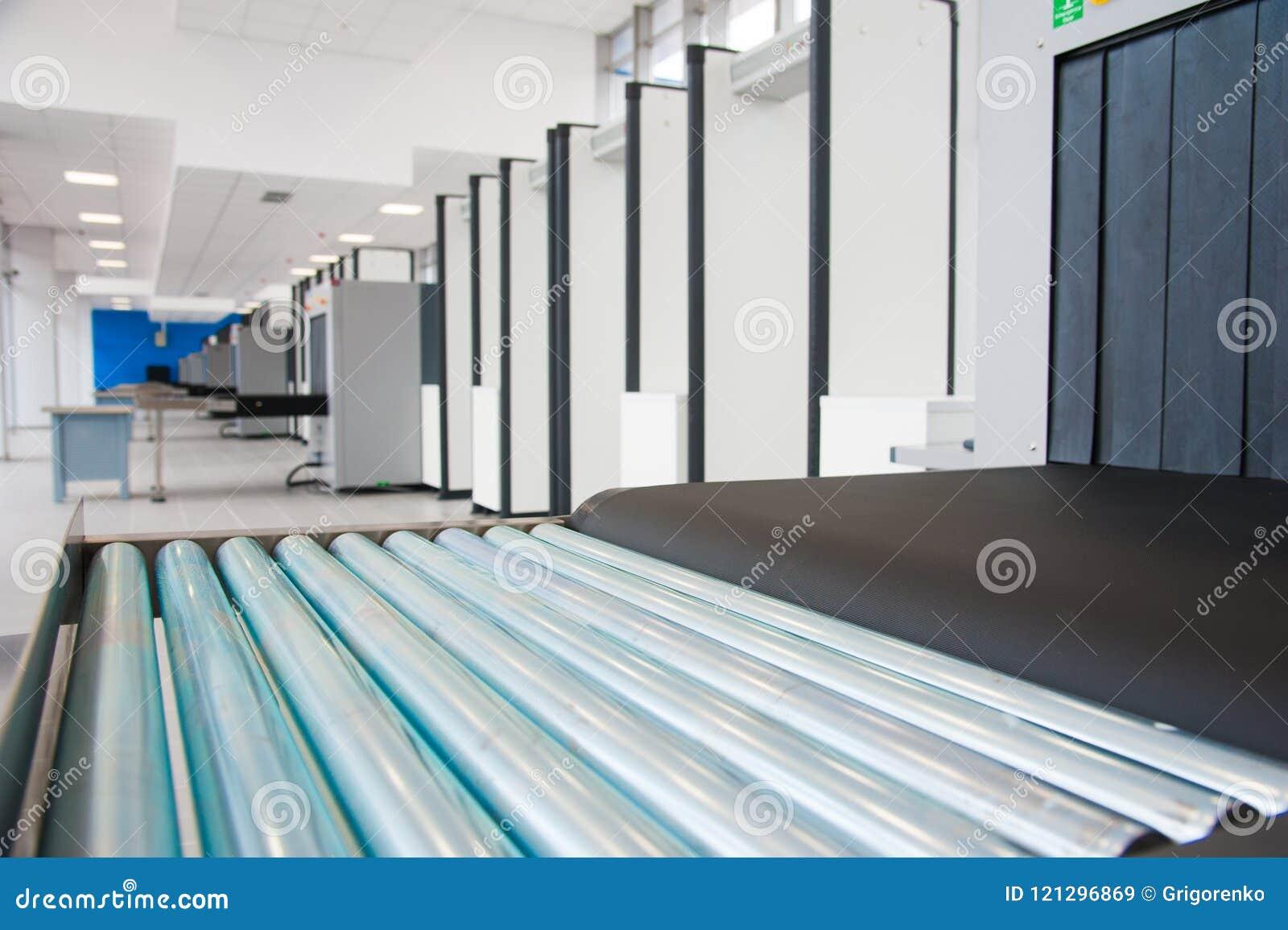 Блок развертки рентгеновского снимка на контрольно-пропускном пункте безопасностью