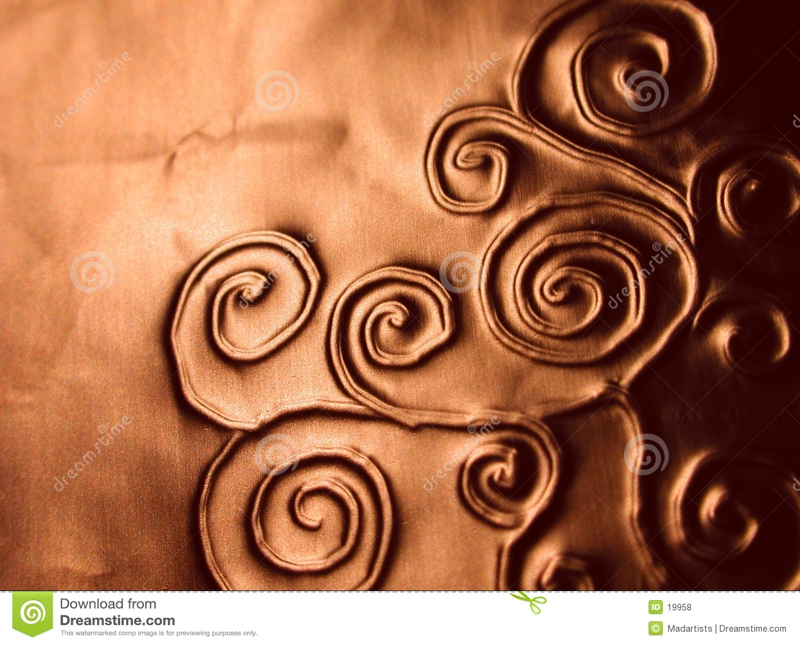 богато украшенный картина закручивает в спираль текстура