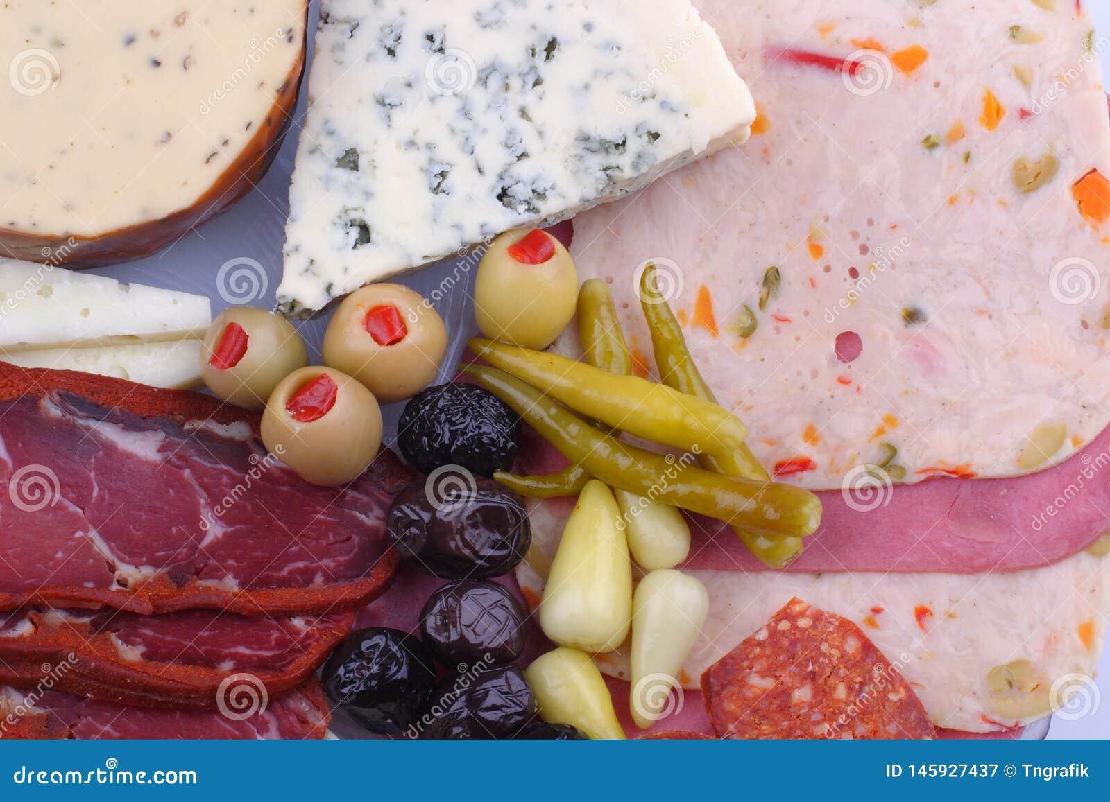 Богатый турецкий завтрак