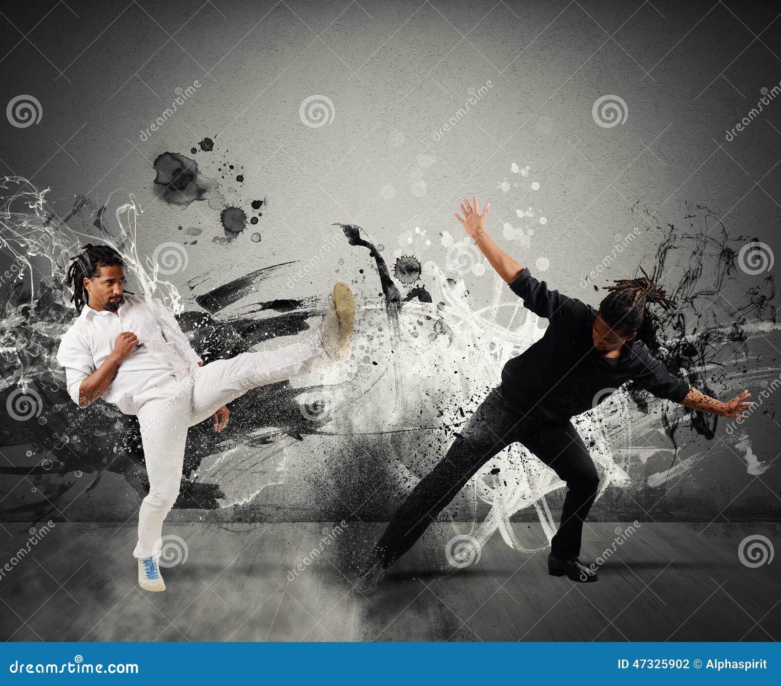 Бой Capoeira