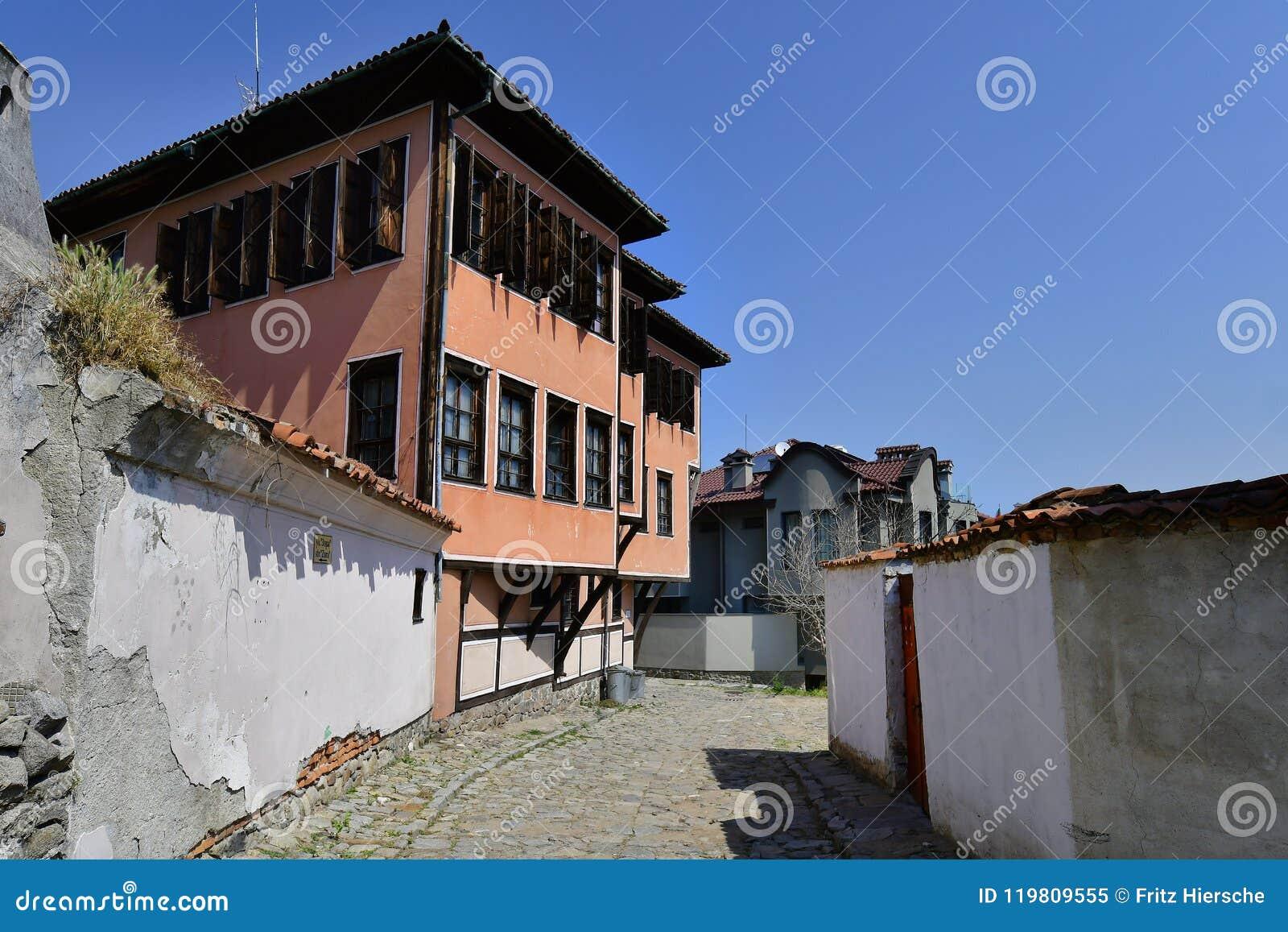 Болгария, Пловдив, старый городок