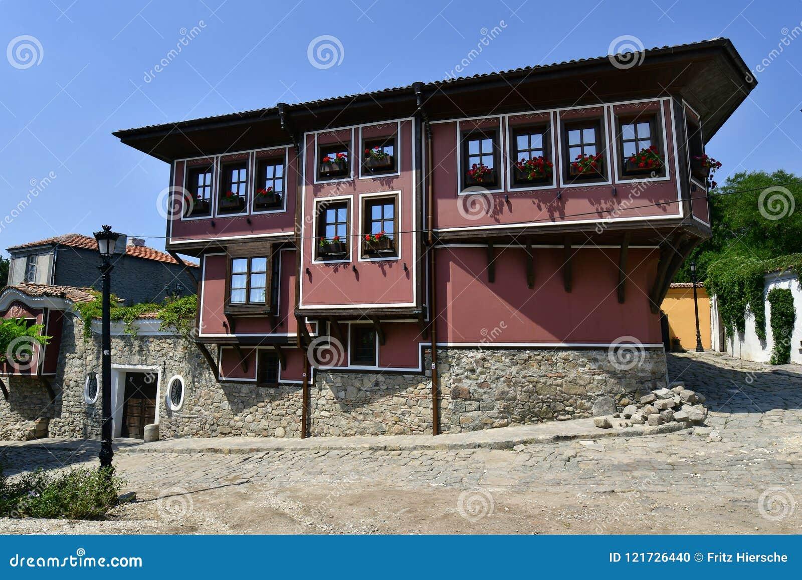 Болгария, старый городок Пловдив