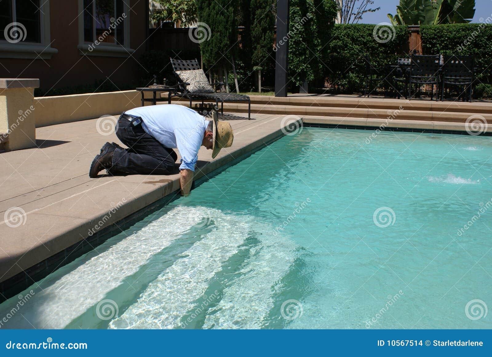 более чистое заплывание бассеина