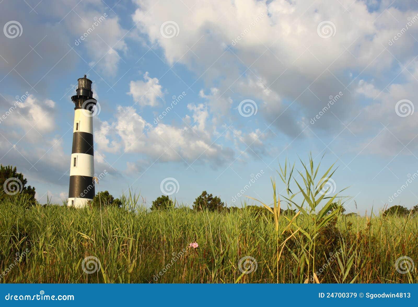 болотоы маяка острова bodie