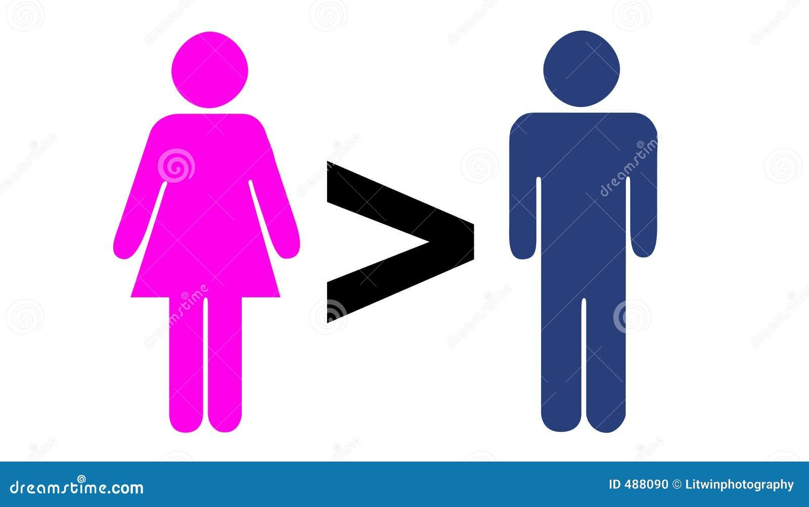большие люди чем женщины
