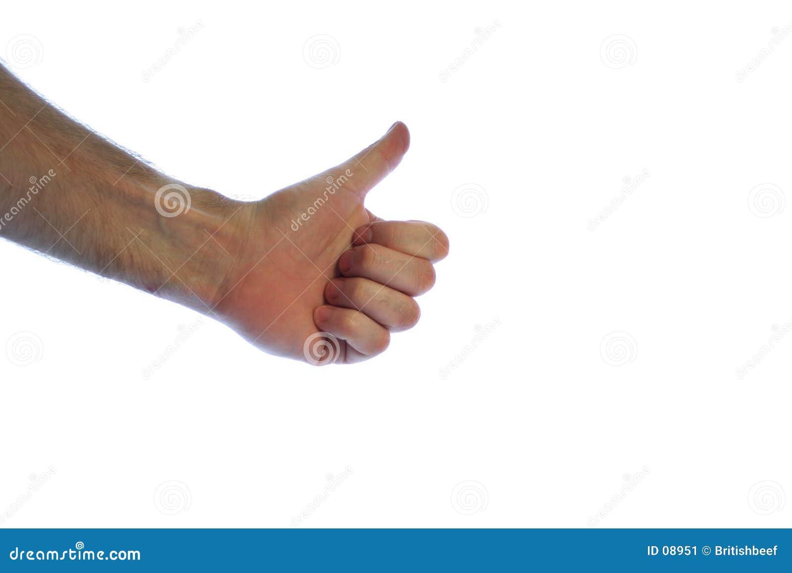 большие пальцы руки вверх