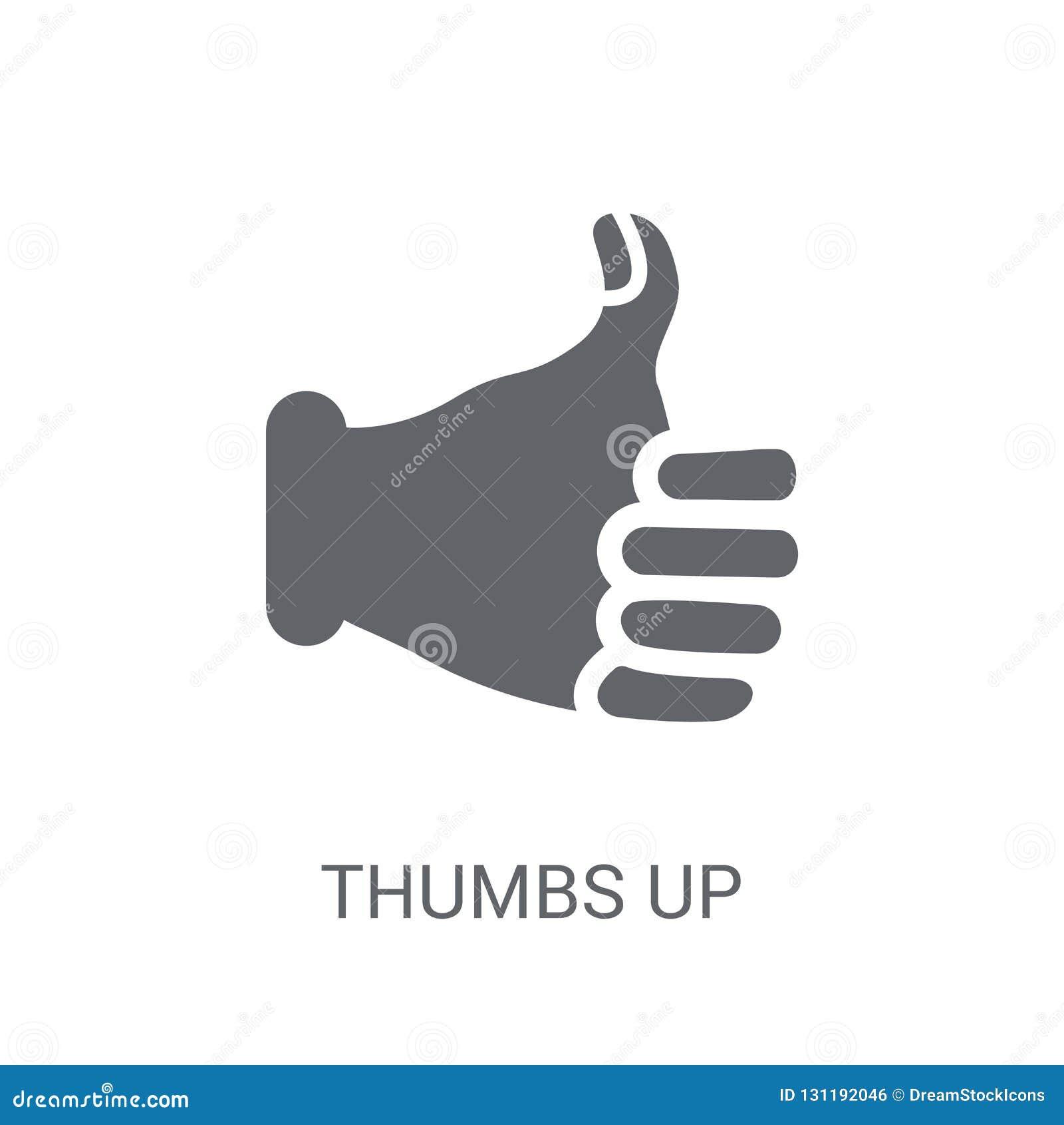Большие пальцы руки поднимают икону
