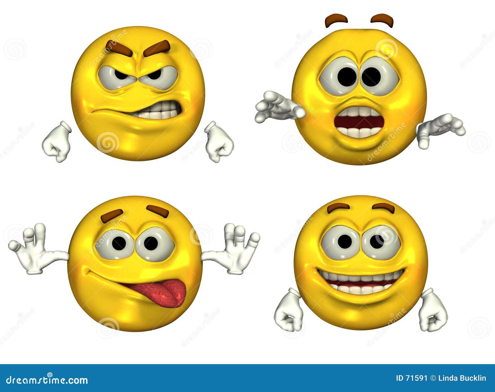 большие emoticons 3d