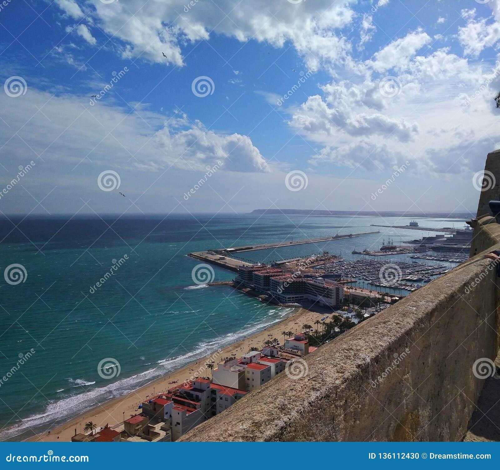 БОЛЬШИЙ пляж Аликанте
