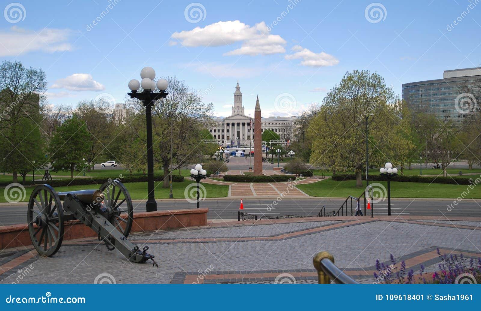 Большой карамболь перед зданием капитолия Денвер, Соединенные Штаты