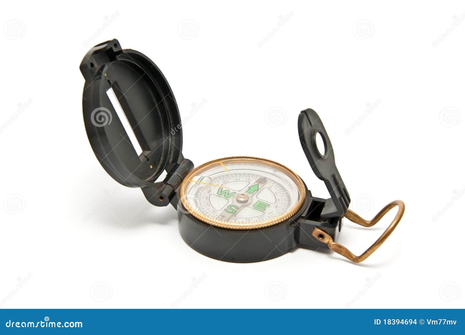 большой черный компас