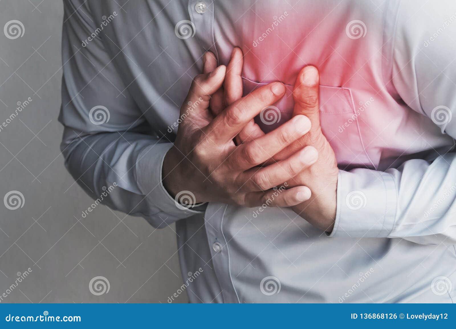 боль в груди людей от сердечного приступа Здравоохранение