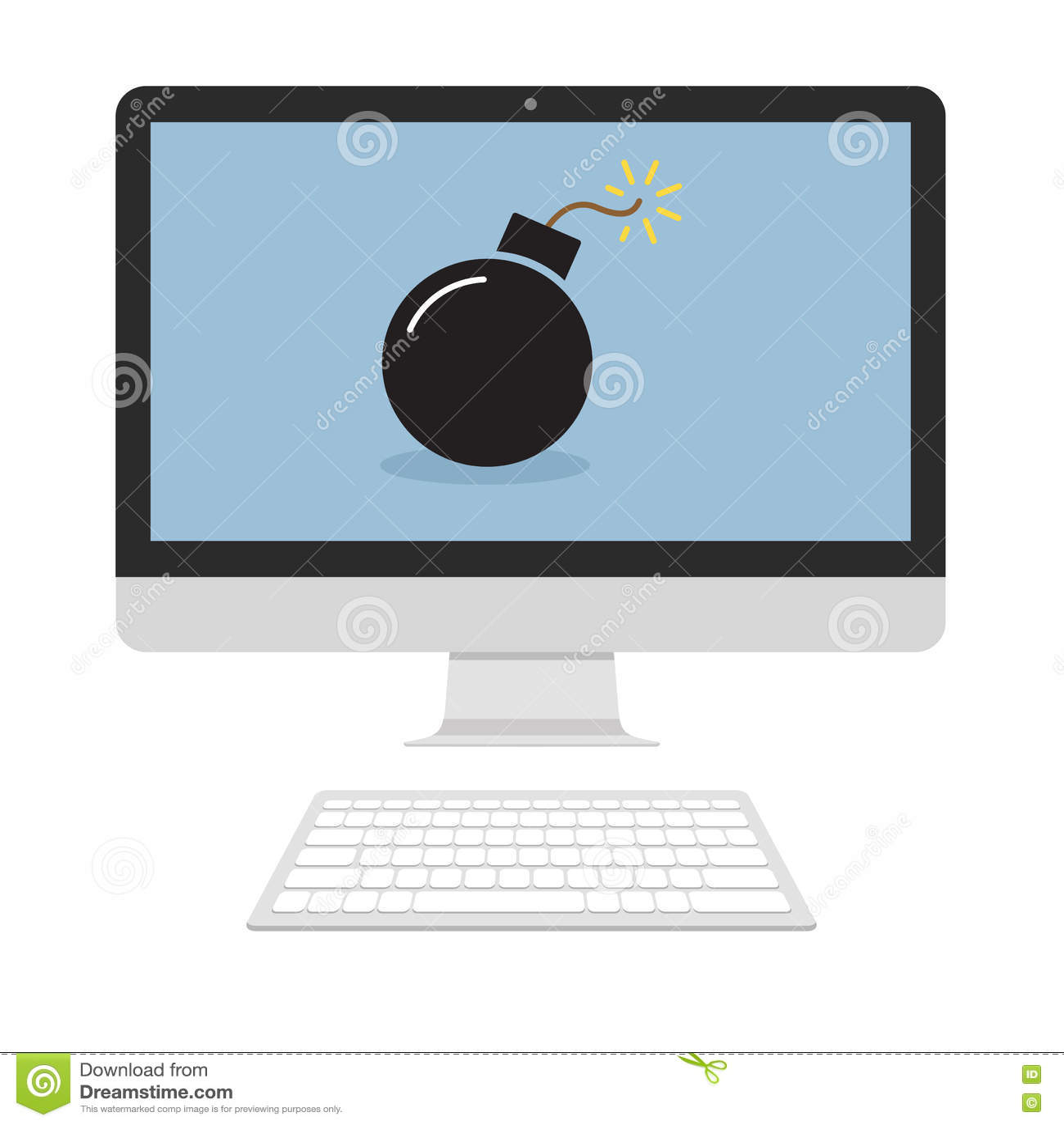 Бомба на экране